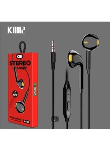 Bludfire K802 Music Kulaklık Siyah